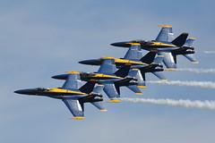 Blue Angels F-18 (A  Train) Tags: close navy airshow precision f18 blueangels