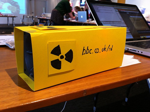 A web stats Geiger counter