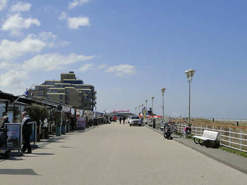 Sea promenade of Kijkduin