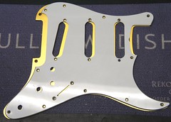 Here's Joe's old white pickguard versus a pre cut one from eBay - no use! (Jack's Instrument Services) Tags: guitarsetups guitarrepairs guitarsetupmanchester salford luthier guitartech guitarrepairermanchester lowaction guitaraction headstockbreak brokenheadstock pickuprewind pickupwinding talesfromtheworkbench the fre