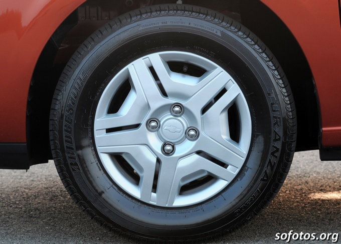 Roda do Chevrolet Onix LT