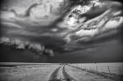 Supercell near Lawton, OK on 4-17-13 (ir guy) Tags: bw white storm black oklahoma rain canon season ir wind jeremy infrared thunderstorm ok holmes thunder chasing lawton supercell jeremyholmes wwwirvisionscom