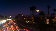 Full Moon Sunnyvale ({WLQ} Photography) Tags: night sunnyvale nikon clear moonrise oneshot d600 projectweather