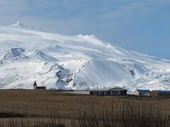 Volcan Snaeflsjokull, our first objective