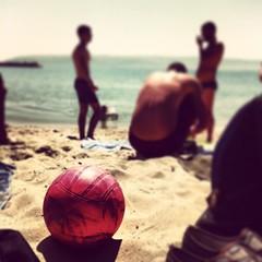 #summer #season #open :D #andisha (astoichkov) Tags: sea summer sky sun hot clouds square sunny squareformat brannan 2013 insta iphoneography instagram instagramapp uploaded:by=instagram andisha astoichkov