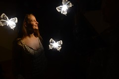 Butterfly Greeting (Crux_VII) Tags: lightpainting buterflies
