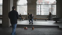 Zrich (Pedro Nez) Tags: street music photography schweiz suiza strasse zurich bach musica zrich musik callejera acordion pedronunez switerzaland