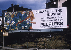 Peerless Wallpaper - OAAA-1968 (DukeUnivLibraries) Tags: wall 1968 dukeuniversity madmen covering hartmancenter peerlesswallpaper