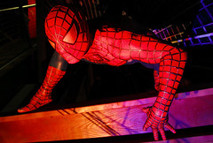 The Amazing Spider-Man (Gary Burke.) Tags: red sculpture statue museum canon eos rebel colorful lasvegas nevada spiderman peterparker icon nv hero comicbook figure superhero spidey wax waxmuseum dslr marvel madametussauds waxfigure waxworks lasvegasstrip webhead garyburke klingon65 t1i canoneosrebelt1i