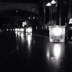 Still bored at work. #candles #reflection #shadows #bar #restaurant #baltimorecity #baltimore #fellspoint #maryland #iphone5 #mobilephotography (Melaney Wolf) Tags: reflection bar square restaurant still candles shadows maryland baltimore squareformat fellspoint baltimorecity mobilephotography iphone5 iphoneography instagramapp
