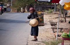 Elderly Woman on the Road - Kon Tum Province, Vietnam (ChrisGoldNY) Tags: road old travel people rural walking poster asian women asia southeastasia vietnamese forsale candid villages vietnam viet viajes elderly backpack posters albumcover bookcover ethnic minority bana bookcovers villagers albumcovers indochina vn gridskipper minorities centralhighlands bahnar kontum napsack jaunted kontumprovince chrisgoldny chrisgoldberg chrisgold chrisgoldphoto chrisgoldphotos