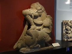 Mahishasuramardini (my-india) Tags: sculpture india history archaeology museum wales ancient asia south prince maharashtra mumbai basalt elephanta mardini mahishasurmardini