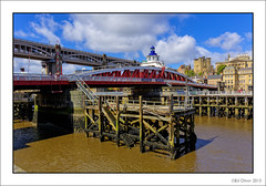 Swing Bridge (Seven_Wishes) Tags: swingbridge newcastleupontyne castlekeep rivertyne highlevelbridge newcastlequayside