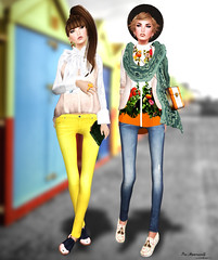 My First Jeans::[monso] (pia_moonwall) Tags: k tram coco pm tb essences handverk monso {ufo} colormehof thesecretstore laviere fameshed miwardrobe imekaposes {chery}
