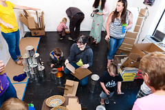 May 3, 2013 - Kids Art Walk@MakeShift by Kevin Lowdon (Make.Shift Art Space) Tags: fun drawing bellingham makeshift artwalk whatcom whatcomcounty kevinlowdon kevinlowdonphotography makeshiftartspace kidsartwalk