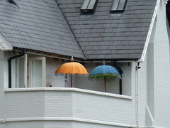 Parasols (Gilder Kate) Tags: balcony parasols richmonduponthamesrichmondsurreysummerriverthamestowpath