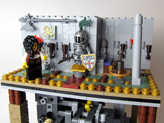 Lady Mechanic (tybort) Tags: lego technic gears pulley mechanism trigger differential ratchet moc hiddendoor
