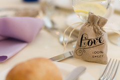 Love is Sweet (MMannetti21) Tags: wedding food love sweet details ceremony marriage reception sack favor
