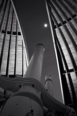 Zrich observatory (akarakoc) Tags: city light sky blackandwhite moon white black night canon lens lights schweiz switzerland abend lowlight exposure nightshot nacht swiss low zurich perspective himmel observatory stadt nightlight moonlight 5d pancake 40mm zrich stern zuerich f28 ef schwarz fernglas lichter urania sternwarte teleskop mark3 sternenhimmel canonphotography nightphotohraphy 5dmarkiii 5dmark3 uploaded:by=flickrmobile flickriosapp:filter=nofilter