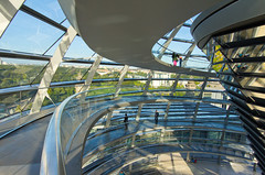 Reichstag Dome Interior V (Paul 'Tuna' Turner) Tags: city travel vacation holiday berlin history architecture germany deutschland europe eu parliament historic reichstag german dome government historical bundestag mitte tiergarten europeanunion houseofparliament deutsch sirnormanfoster historicbuilding capitalcity neoclassicalarchitecture paulwallot germangovernment neobaroquearchitecture
