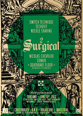 Surgical #2 (Ad Noiseam) Tags: party berlin concert industrial surgical drumnbass subdivision breakcore crossbreed adnoiseam needlesharing techdiff switchtechnique subland burnthemachine