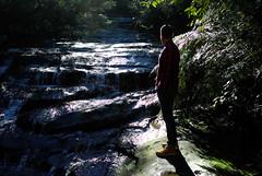 Leura cascades (miyoneza) Tags: blue mountains rock waterfall sydney australia cascades nsw subtropical leura omeio