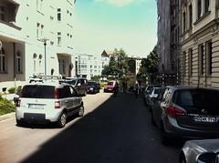 08.06.2013: Blick in die Bleckenburgstraße (zwischen 11:45 und 13:00 Uhr).