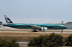 "Special Livery - Cathay Pacific, Boeing 777-300ER, ""Asia's World City"" (Ron Monroe) Tags: boeing lax airlines 777 airliners cathaypacific klax asiasworldcity bkpf"