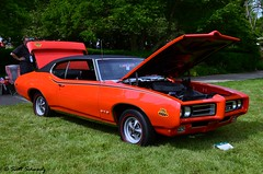 1969 Pontiac GTO Judge (scott597) Tags: park ohio orange 1969 cincinnati judge pontiac gto concours ault 2013