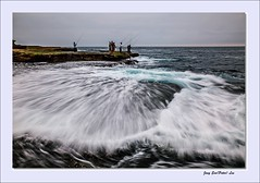 Spread (jongsoolee5610) Tags: sea seascape fishing sydney wave australia maroubra