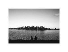 island (Marek Pupk) Tags: central europe slovakia documentary island summer film analog blackandwhite monochrome bw