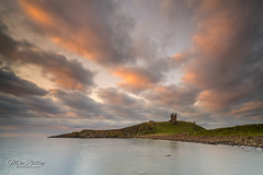 Classic Northumberland ... (Mike Ridley.) Tags: sunrise northumberland dunstanburghcastle sea clouds nature sonya7rll