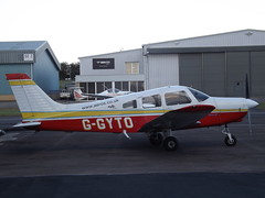 G-GYTO Piper Cherokee Warrior 28 (Aircaft @ Gloucestershire Airport By James) Tags: gloucestershire airport ggyto piper cherokee warrior 28 egbj james lloyds