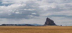 the winged rock (alouest225) Tags: panorama nikon d750 mountain montagne usa unitedstates etatsunis ciel sky clouds nuages newmexico navajo shiprock paysage landscape tsbita