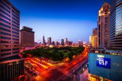 looking through the GAP (Rob-Shanghai) Tags: gap shanghai china puxi leica m240 cv12mm wide