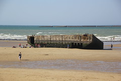 Remnants of the Mulberry Harbour at Gold Beach. (Seckington Images) Tags: mulberry ww2 gold