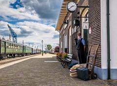 Veluwsche Stoomtein Maatschappij 3 (M van Oosterhout) Tags: vsm veluwsche stoomtrein maatschappij train steamtrain railways beekbergen historic veluwe landscape transportation trein locomotive locomotief holland netherlands nederland dutch