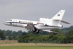 30_DassaultGardian50_FrenchNavy_FFD (Tony Osborne - Rotorfocus) Tags: dassault falcon 50 gardian french navy france royal international air tattoo 2005 raf fairford