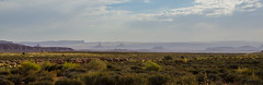 View in Valley of the Gods (Igor Sorokin) Tags: utah usa us valleyofthegods travel scenic haze panorama distant rocks dslr nikon d7000 nikkor 18300 telephoto zoom
