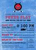 Hockey Bridal Shower Invitation1 (maddieandmarry) Tags: powerplay hockey sports bridalshower invitation icerink sticks puck logo team love blue red game faceoff fan