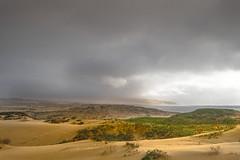 OSO Flaco Lake California (janet.capling) Tags: california beach sand dunes grass nipomo state park guadalupe water sun clouds mist rain