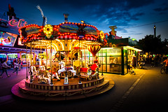 "funfair ""Wiener Prater"" (jochenlorenz_photografic) Tags: wienerprater prater wien vienna visitvienna visitaustria austria austrianblogger igaustria carousel karussell fun evening colorful explore exploration discover discoveraustria holidays urlaub wienistanders lights nikond7100 tokina1116mm28 tripod rolleic5i nightsession nightshot nightview"