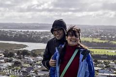 Francisco y Mariela (Lucas E. Vigano) Tags: auckland new zeland nz perdidoenmibicicleta perdido en mi bicicleta mount victoria devonport nueva zelanda amigos aire libre