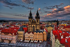 Church of Our Lady before Tyn (kadofr) Tags: prague czechia