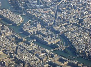 2016.09.14.002 PARIS - Vus depuis l'Airbus A318 , retour d'Italie