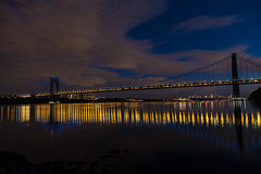 2014.09.16  - 39 - George Washington Bridge.jpg (jpe81) Tags: night long exposure georgewashingtonbridge longexposure fortlee newjersey unitedstates