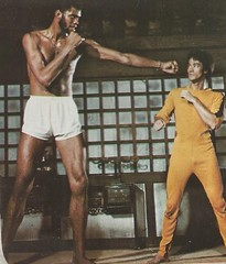His fist is as big as Bruce's head- but no worries! (912greens) Tags: brucelee martialarts stickers 1970s
