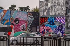 America's Rockstars (www78) Tags: san francisco california haight ashbury artist mural americas rockstars jimi hendrix jerry garcia janis joplin carlos santana david bowie prince