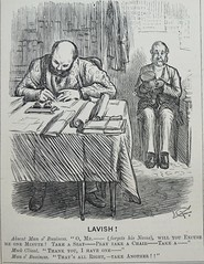 Lavish! -  Punch 1873 (AndyBrii) Tags: punch 1873 wit satire engravings woodcuts