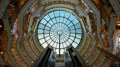 Shanghai - Cupola at Grand Gateway (cnmark) Tags: shanghai xuhui xujiahui grand gateway ganghui guangchang shopping mall interior modern architecture lobby atrium glass cupola gebude kuppel building       allrightsreserved